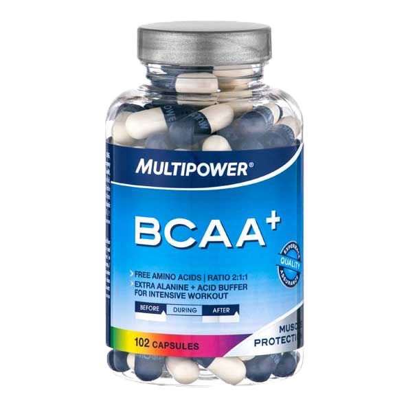 BCAA Multipower  BCAA + 102 капс