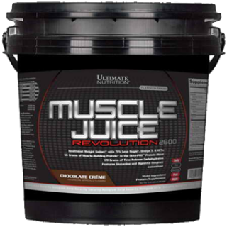 Гейнер Ultimate  Muscle Juice Revolution 2600 -5000 г