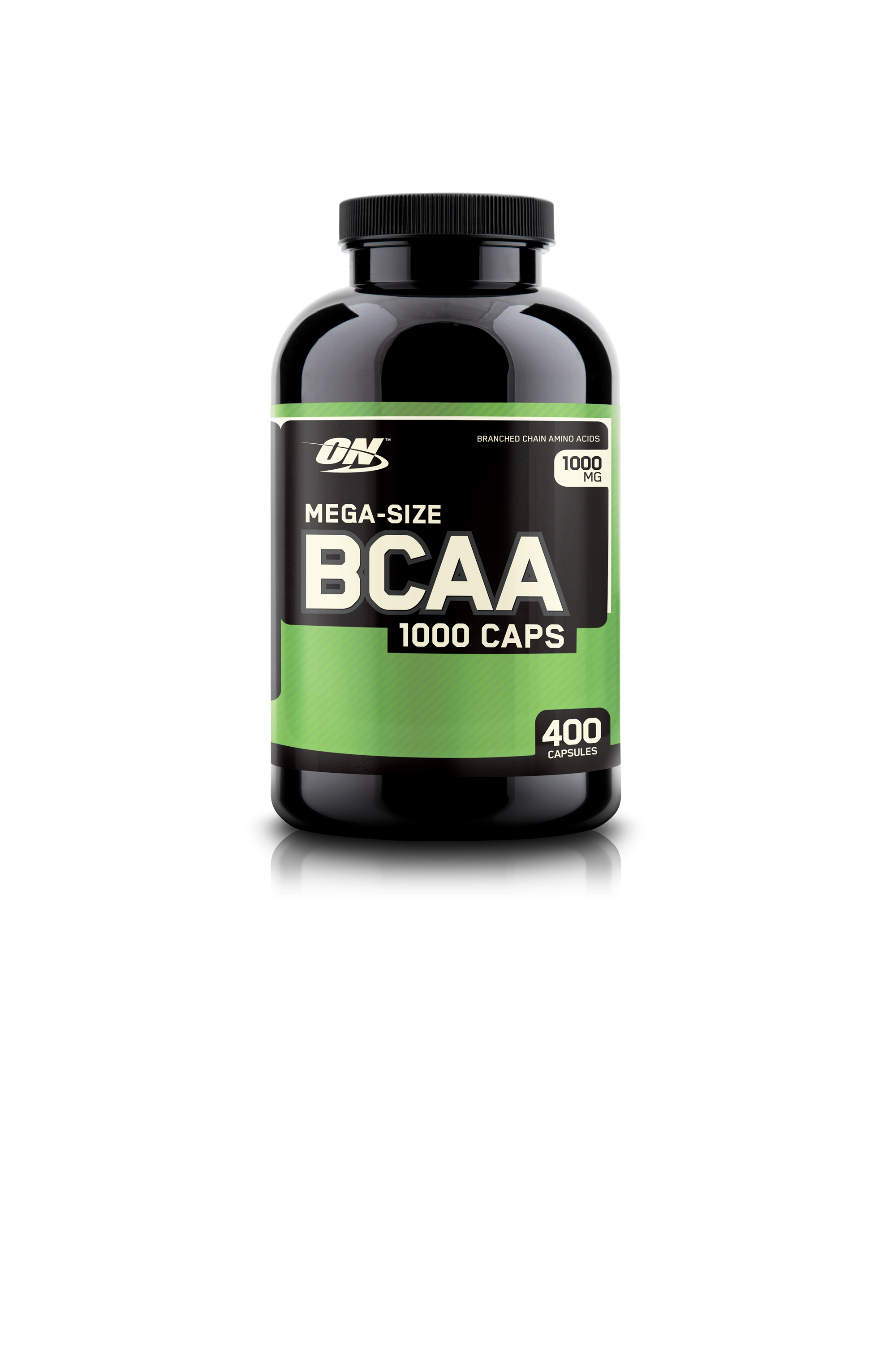BCAA в капсулах ON  mega - size BCAA 1000 - 400 капс