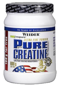 Креатин моногидрат Weider Pure Creatine 600г