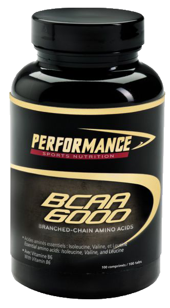 BCAA Performance BCAA 6000 - 100 таб