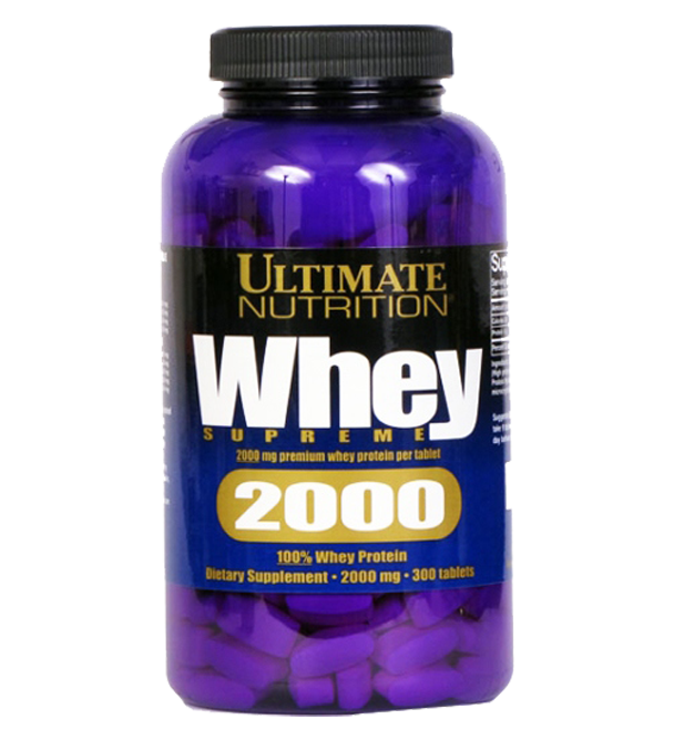 Аминокислоты Ultimate  WHEY SUPREME 2000 -300 табл