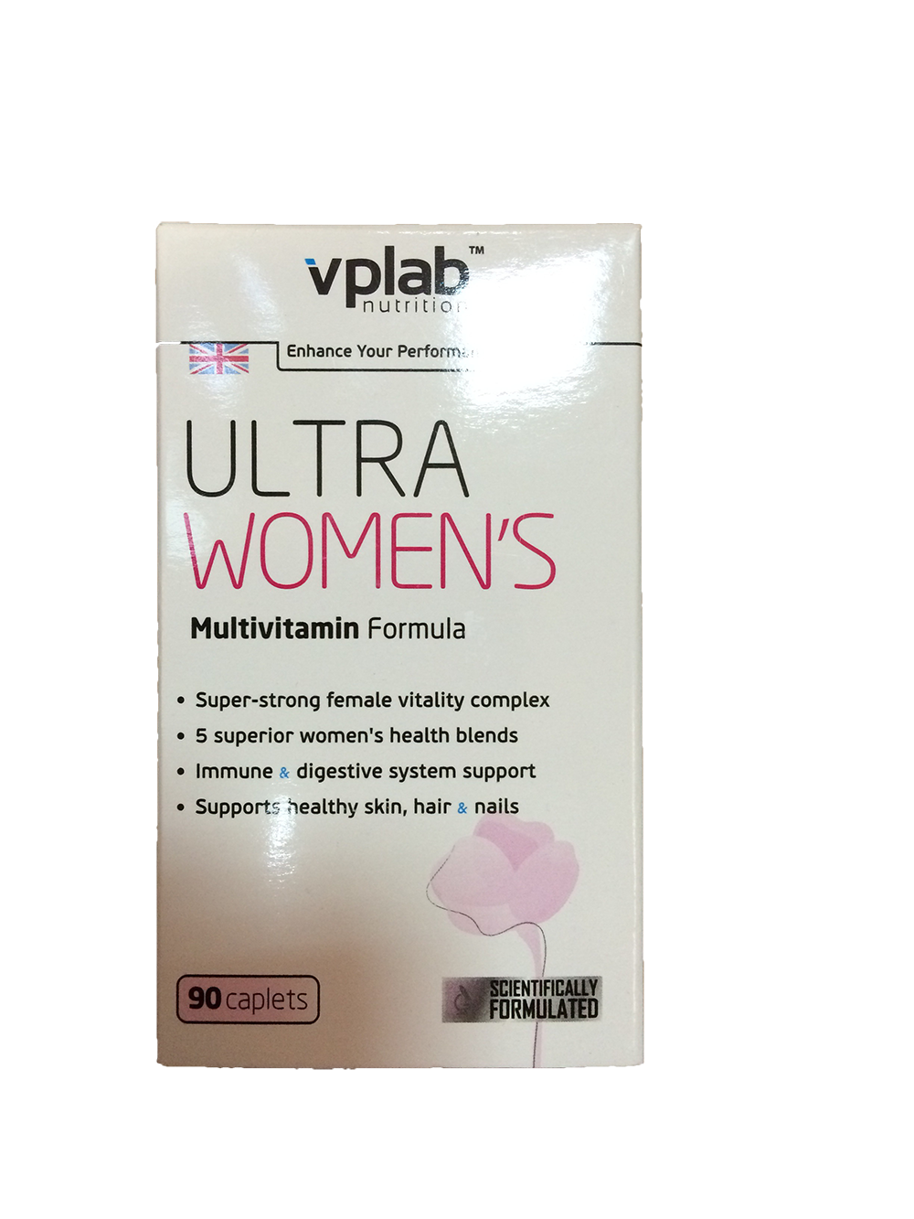 Витаминный комплекс VP Ultra Women's Multivitamin Formula 90 капс