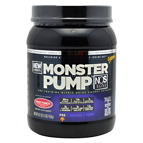 Оксид азота Cytosport Monster Pump N.O.S 600г