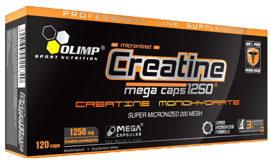 Креатин Olimp Creatine Mega 1250-120капс