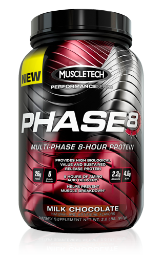 Протеин Muscletech PHASE 8 - 2000г