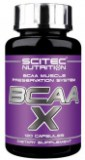 BCAA Scitec Nutrition BCAA-X 120 капсул