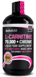 Л-карнитин BioTech USA L-CARNITINE 70.000 + CHROME 500мл