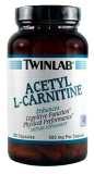 Л-карнитин TWIN LAB  ACETYL L-CARNITINE 500 мг  - 120 капс