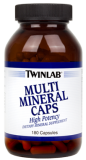 Витаминный комплекс TWIN LAB MULTI MINERAL CAPS  - 180 капс