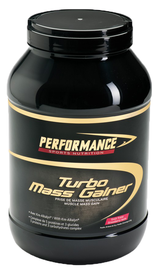 Гейнер Performance TURBO MASS GAINER 3000г