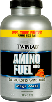 Аминокислоты TWIN LAB AMINO Fuel 1000 -  60 табл