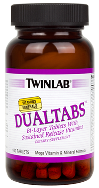 Витаминный комплекс TWIN LAB Dualtabs - 200 капс