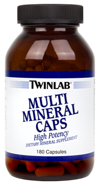 TWIN LAB MULTI MINERAL CAPS  - 180 капс